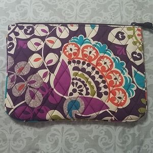 "Vera Bradley ""Plum Crazy"" Makeup Bag"